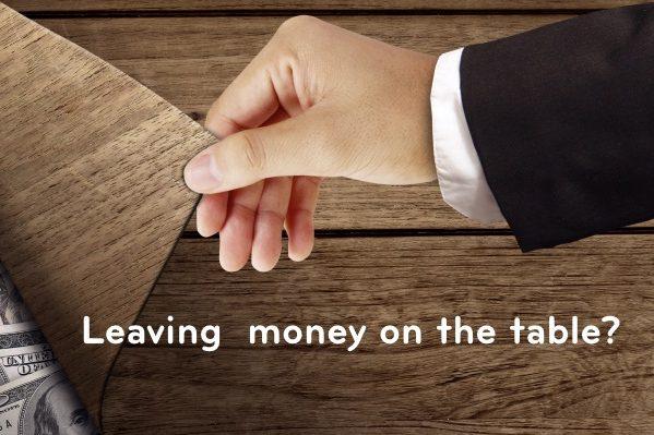 Money Under Table Trio Express RoI Calculator Blog