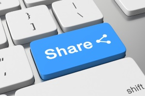 Sharing Button For Report Sharing