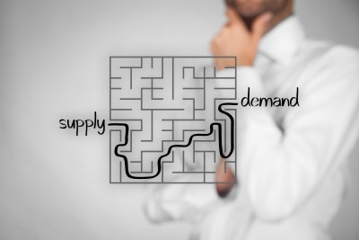 financial impact of inventory gap supply and demand maze